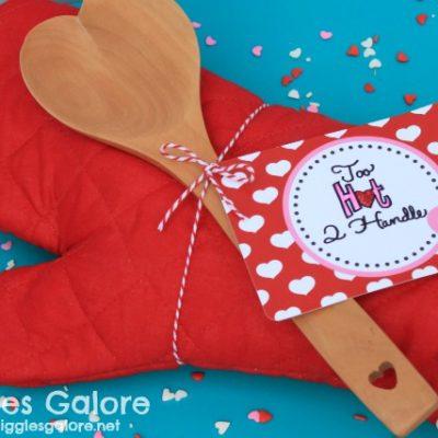 Oven Mitt Valentines Gift