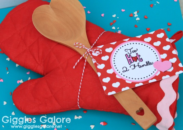 Giggles galore oven mitt valentines gift
