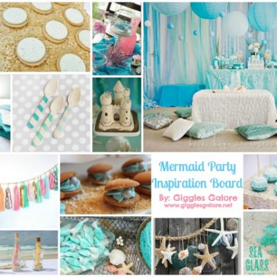 Mermaid Party Inspiration Board