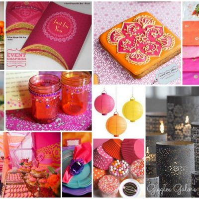 Moroccan Party Inspiration Board
