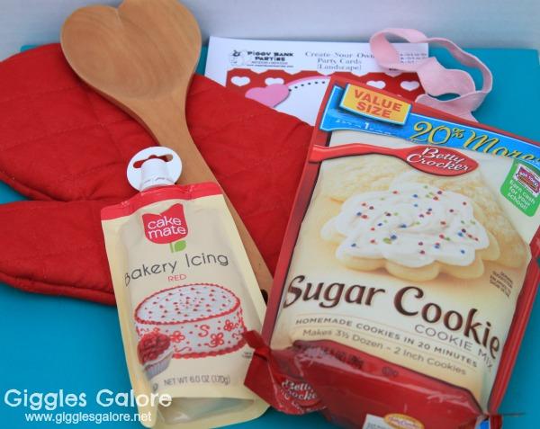 Oven mitt valentines gift supplies