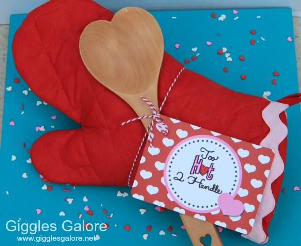 Oven mitt valentines gift giggles galore