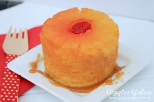 Pineapple Upside Down Cake_Giggles Galore
