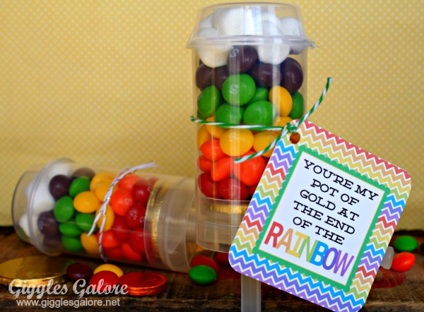 Rainbow Candy Push Up Pops