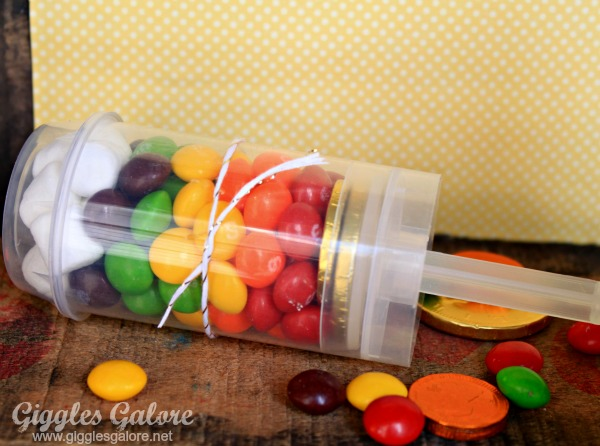 Rainbow push up pops