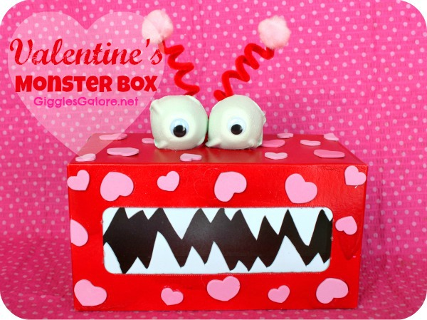 Valentines monster box
