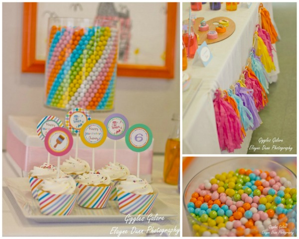 Art gallery party candy art gg