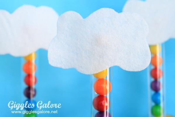 Bubble gum tube clouds