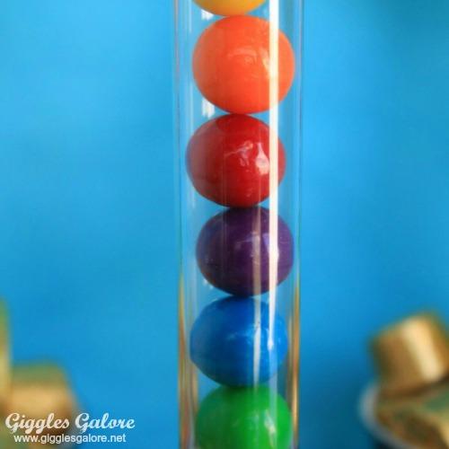Bubble gum tube