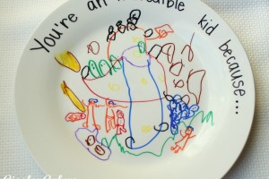 Incredible Kid Day Plates