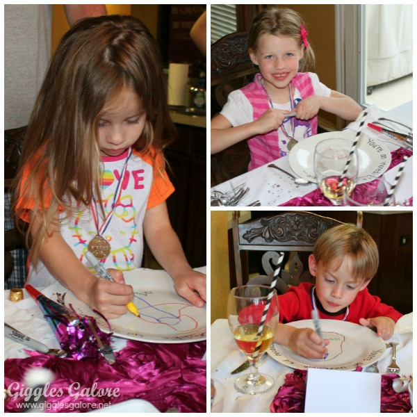 Incredible kid day plates kids decorating plates