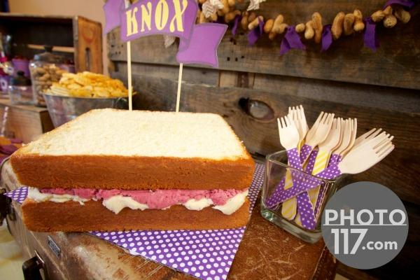 Pbj party cake