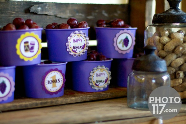 Pbj party grape cups