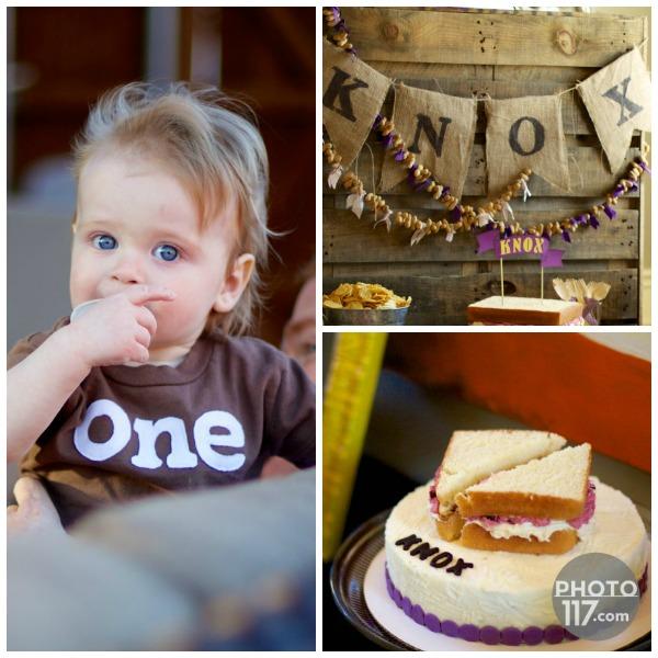Pbj party one birthday boy1