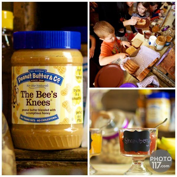 Pbj party peanut butter bar