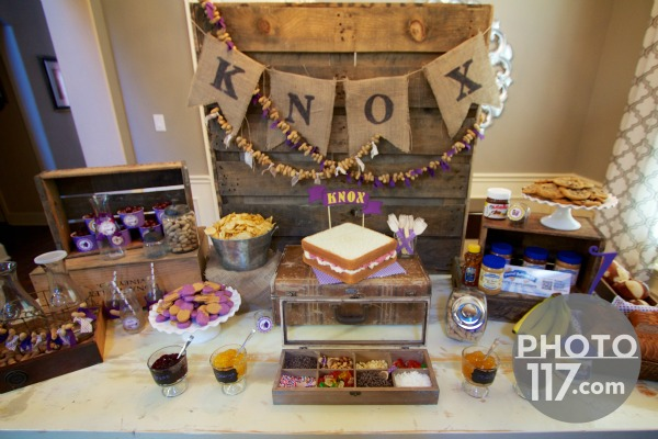 Pbj party peanut butter bar giggles galore1