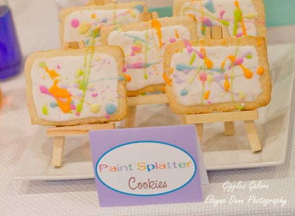 Paint splatter cookies2