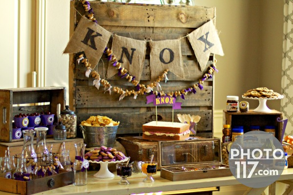Peanut butter and jelly bar party