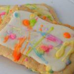 Splatter Paint Cookies