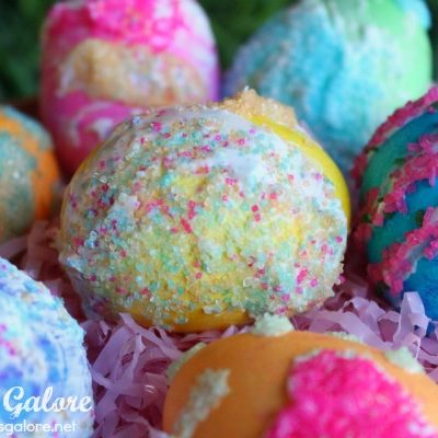 Sugar Decorated Easter Eggs