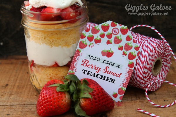 Berry sweet teacher appreciation gift tag