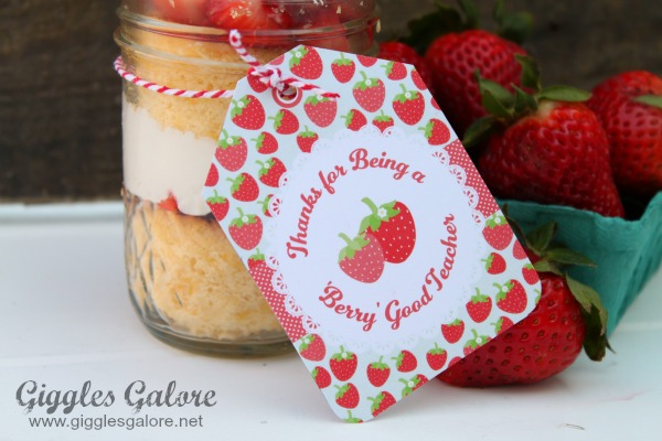 Berry sweet teacher appreciation tag