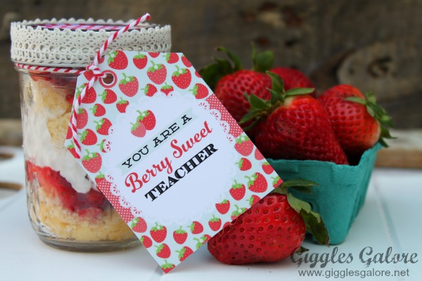 Berry sweet teacher appreciation berry sweet tag
