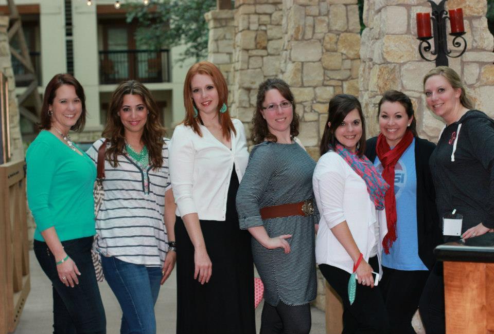 Blissdom party girls