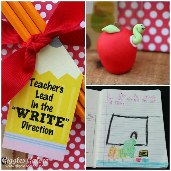 Teacher appreciation gift notebook
