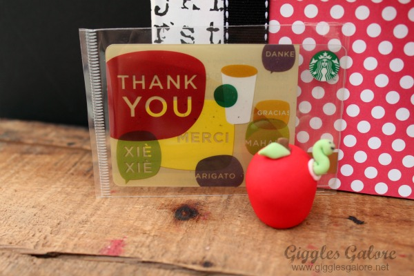 Teacher appreciation gift teachers lead in the write direction gift card