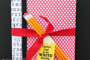 Teachers Lead in the Write Direction_Teacher Appreciation Gift Idea