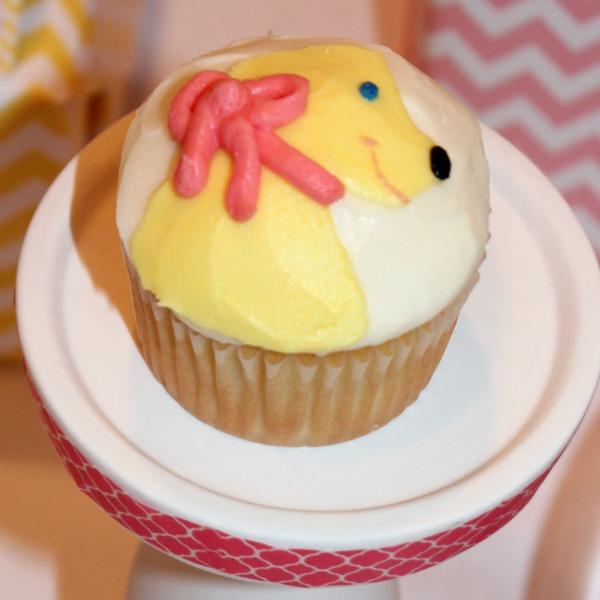Birthday girl pupcake