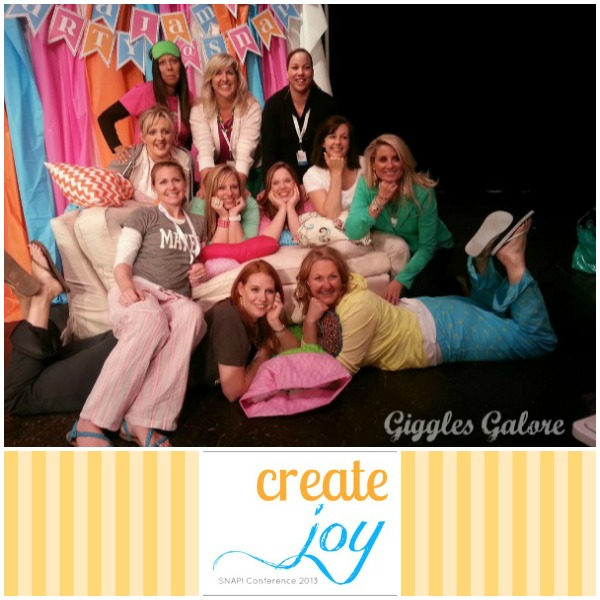 Create joy snap conference