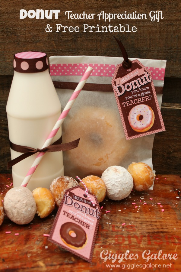 Teacher Appreciation Gifts: 'Donut' You Know You're a ...