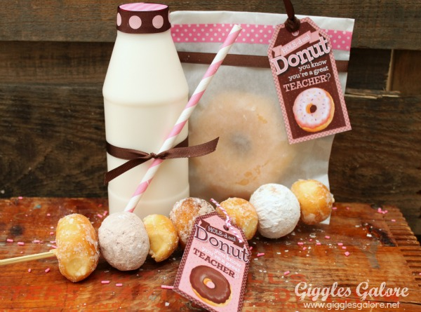 Teacher Appreciation Ideas Free Donut Tags