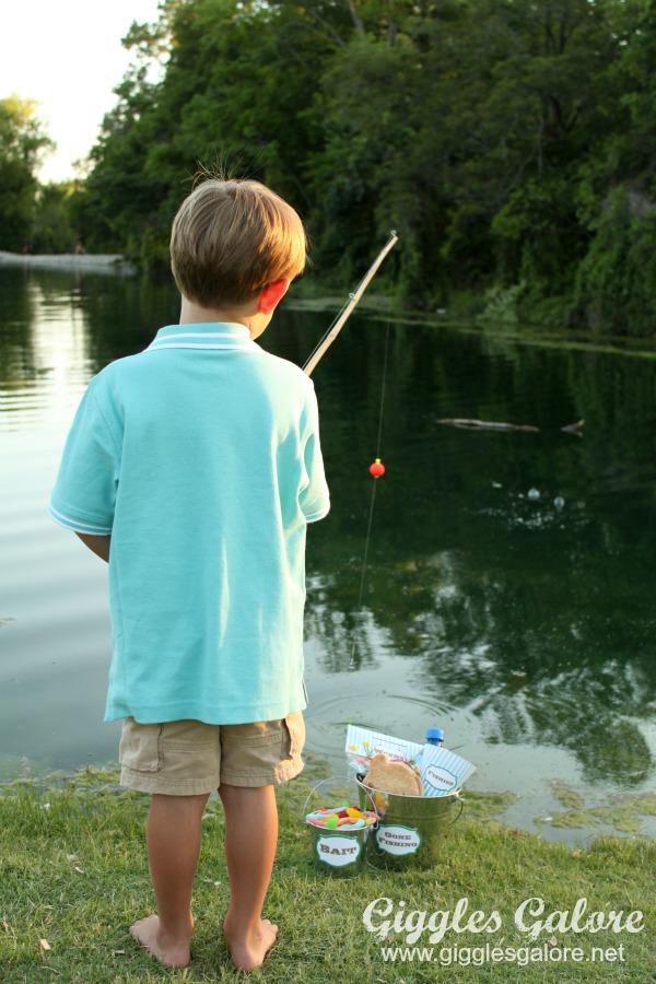 Diy Fishing Pole Giggles Galore