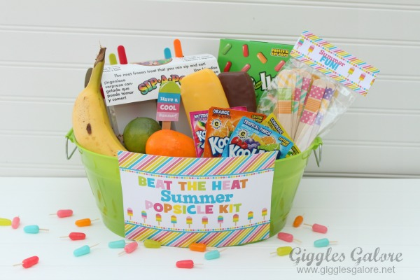 Giggles galore beat the heat popsicle kit