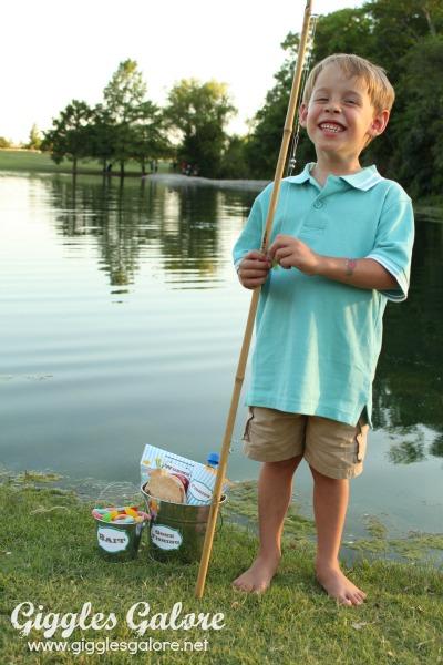 Summer fun diy fishing pole