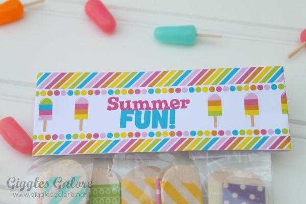 Summer fun tag