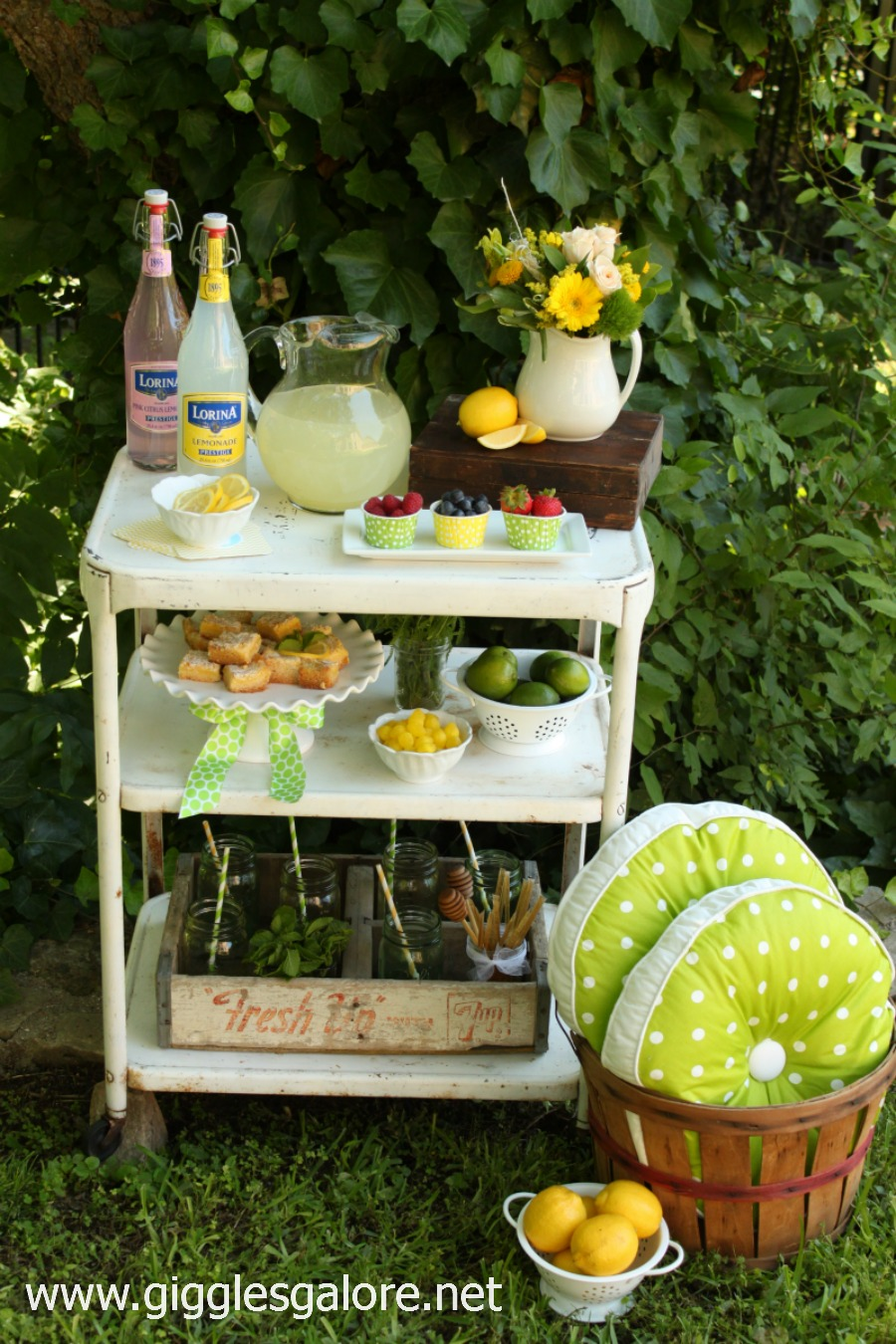 Summer lemonade bar