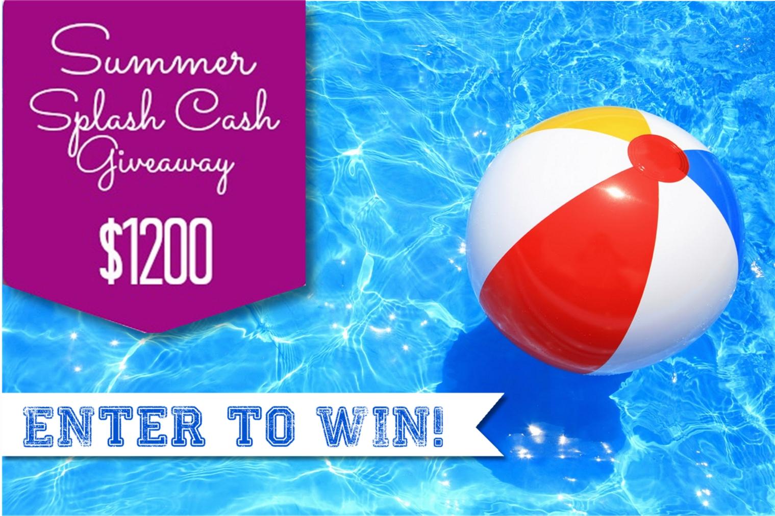 Summer splash cash giveaway