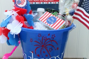 4th of July Celebration Buckets