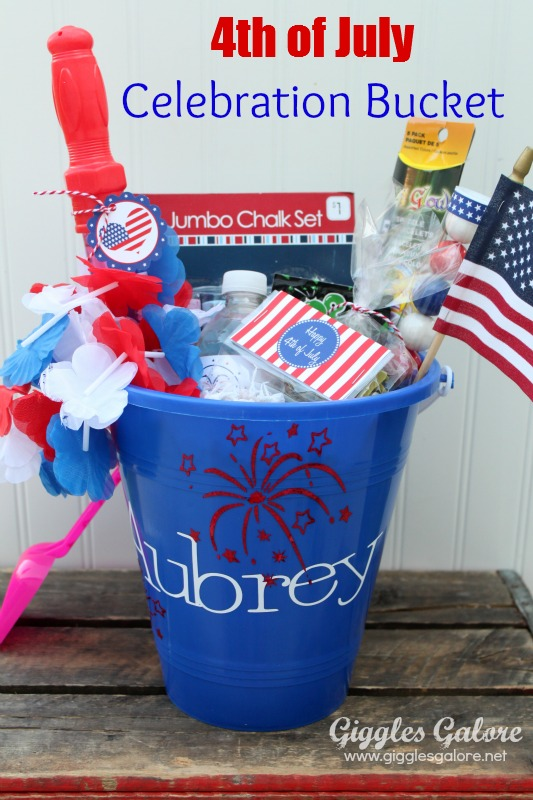 4th of july celebration bucket giggles galore