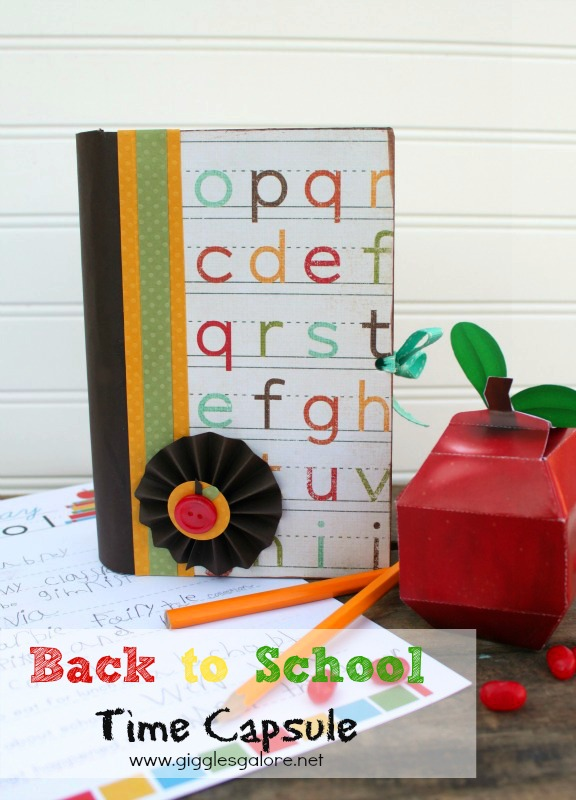 Back to School Time Capsule Giggles Galore