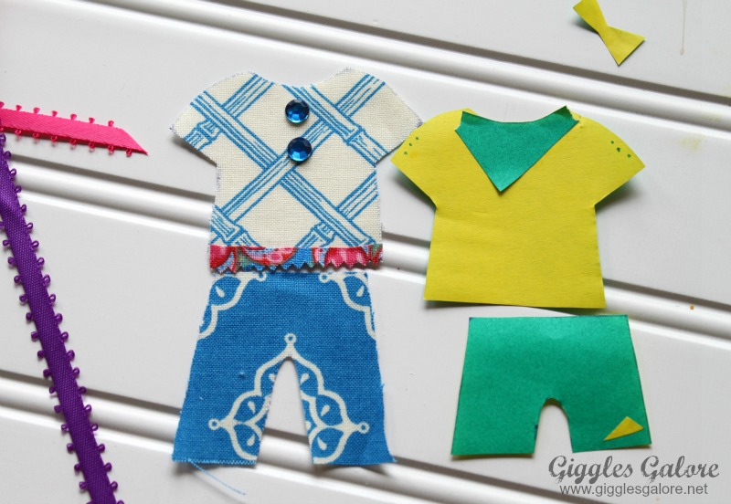 Clothes for Paper Dolls