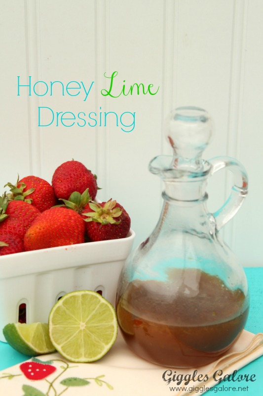 Honey Lime Dressing_Giggles Galore