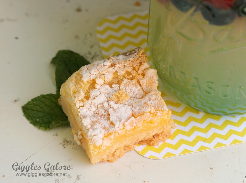Sweet and Tangy Lemon Bars