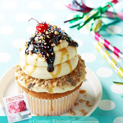 FROSTINGS Book Giveaway + Salted Caramel Frosting Recipe