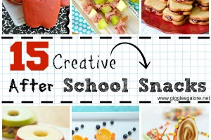 15 Creative After School Snacks