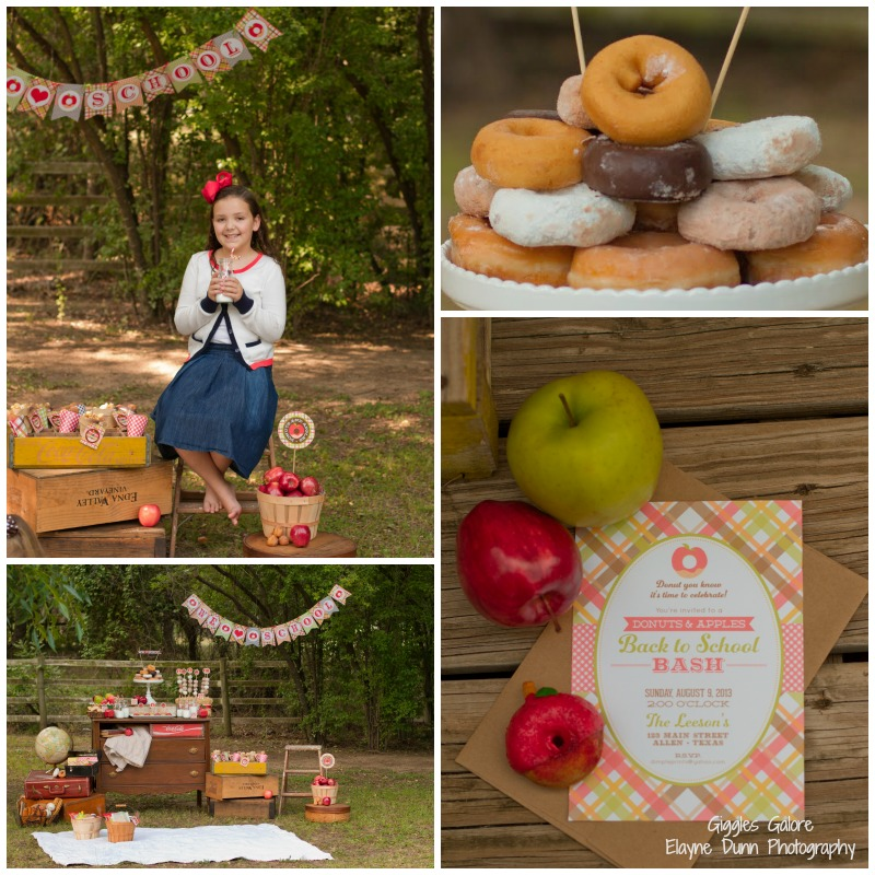 Back to School Apples and Donuts Party_2